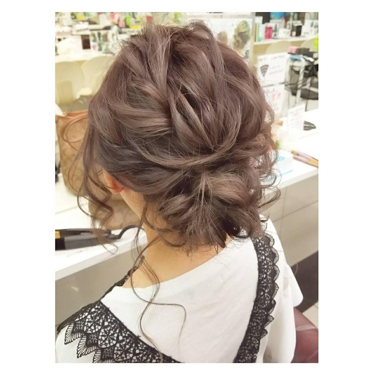 エレガント ハロウィン ヘアアレンジ スポーツヘアスタイルや髪型の写真・画像