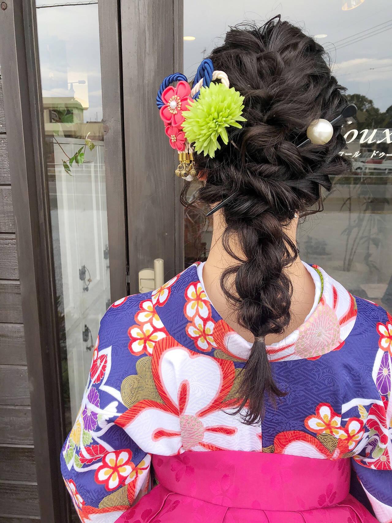 簡単ヘアアレンジ 結婚式 ヘアアレンジ デートヘアスタイルや髪型の写真・画像