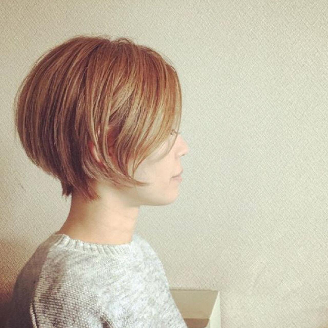 ハイライト 外国人風カラー 外国人風 ブリーチヘアスタイルや髪型の写真・画像