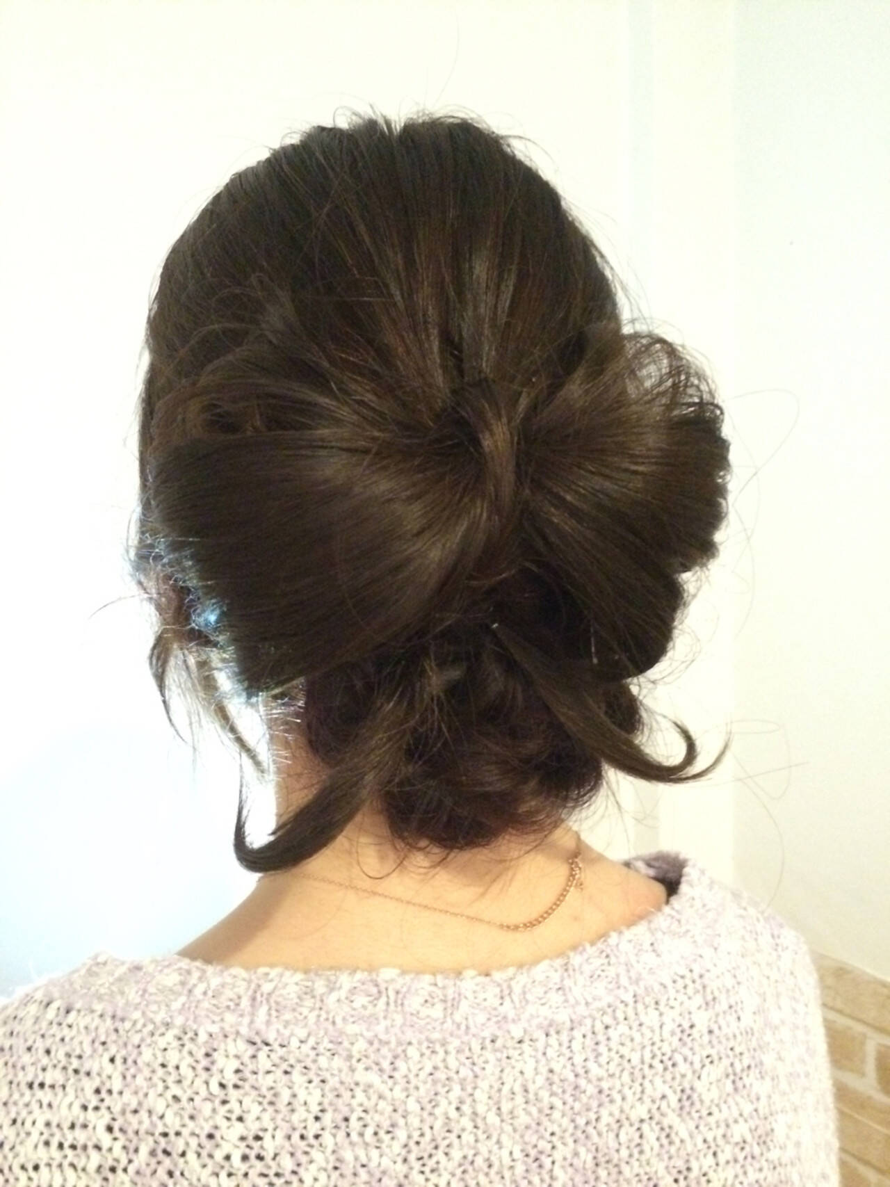 アップスタイル 結婚式 編み込み ヘアアレンジヘアスタイルや髪型の写真・画像
