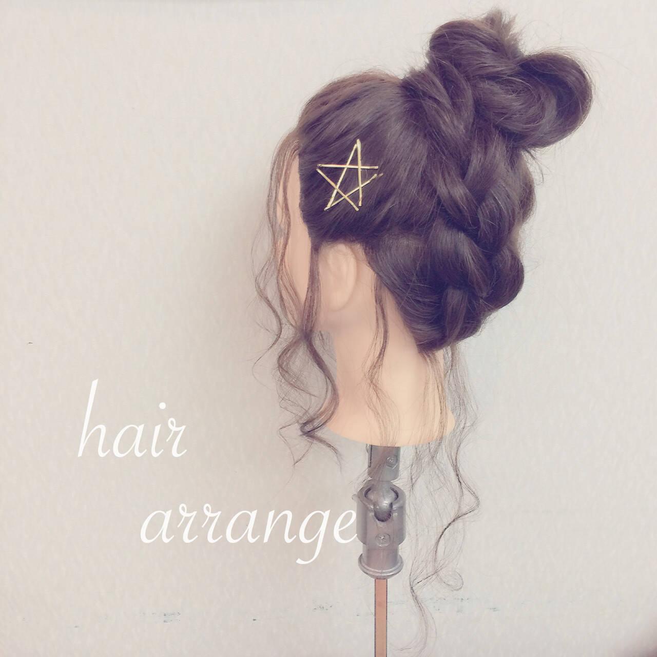 大人かわいい ヘアアレンジ ロング ショートヘアスタイルや髪型の写真・画像