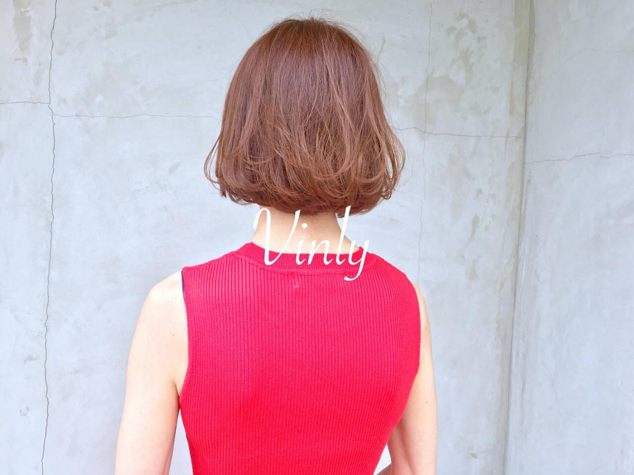 簡単ヘアアレンジ ヘアアレンジ ボブ オフィスヘアスタイルや髪型の写真・画像