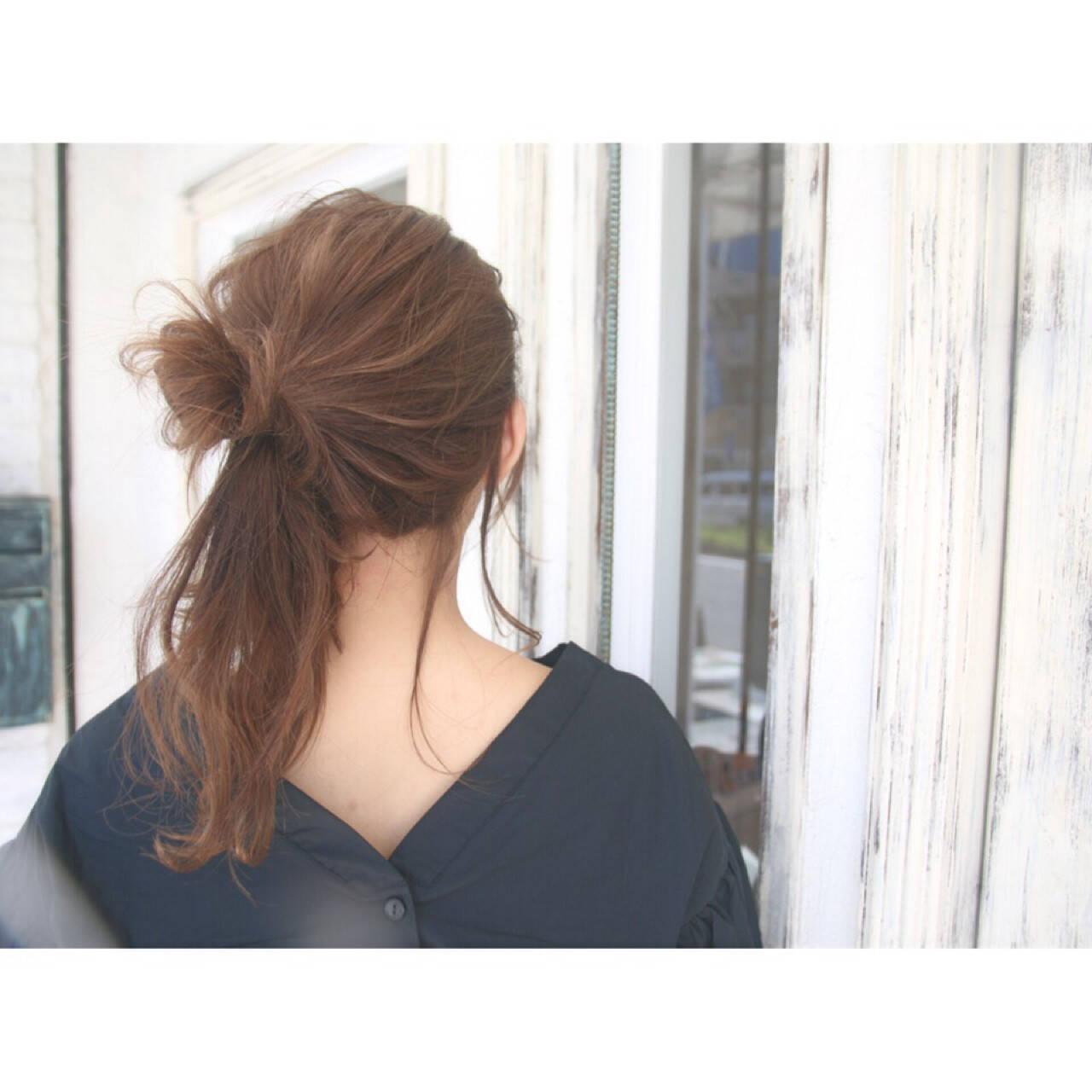 女子会 ナチュラル ロング デートヘアスタイルや髪型の写真・画像