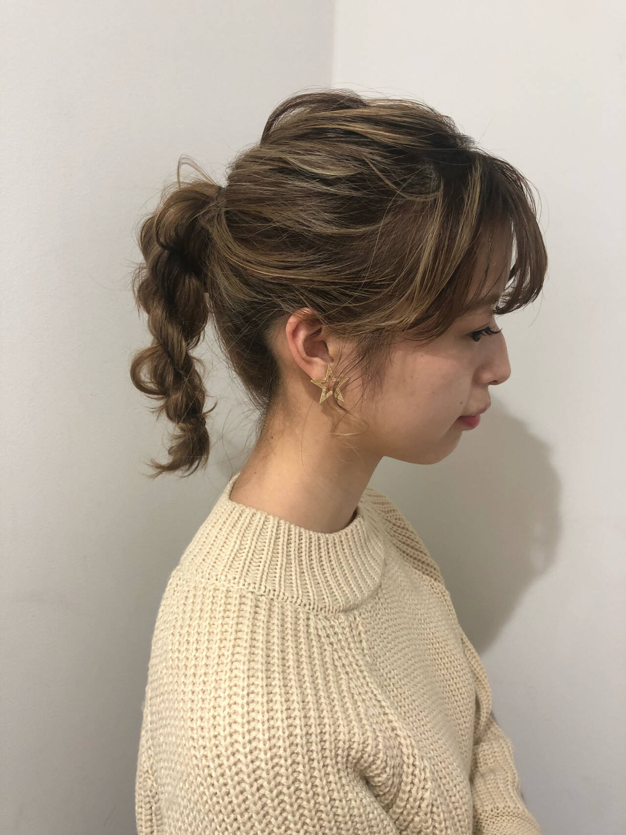 簡単ヘアアレンジ デート ヘアアレンジ アンニュイほつれヘアヘアスタイルや髪型の写真・画像