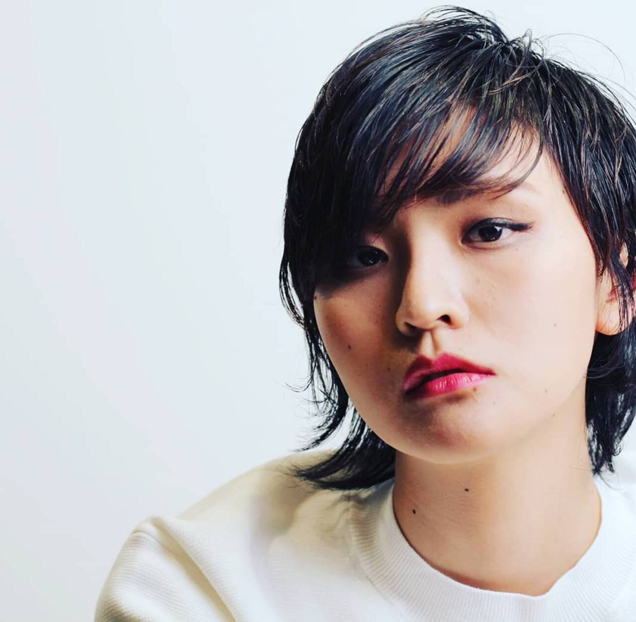 阿藤俊也 PEEK-A-BOO ウルフカット 大人ヘアスタイルヘアスタイルや髪型の写真・画像