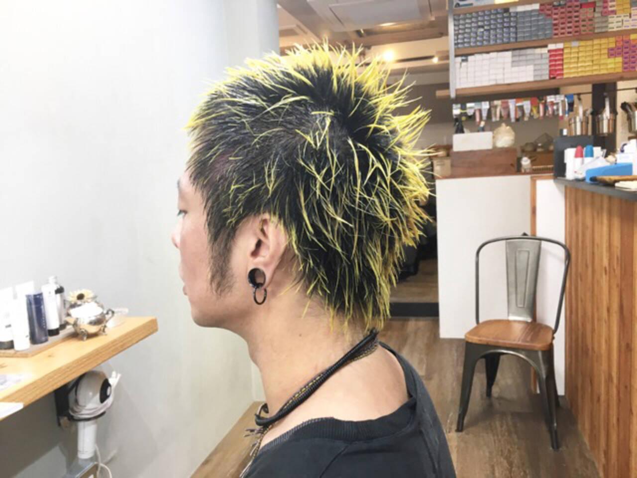 メンズショート ショート ストリート メンズカットヘアスタイルや髪型の写真・画像
