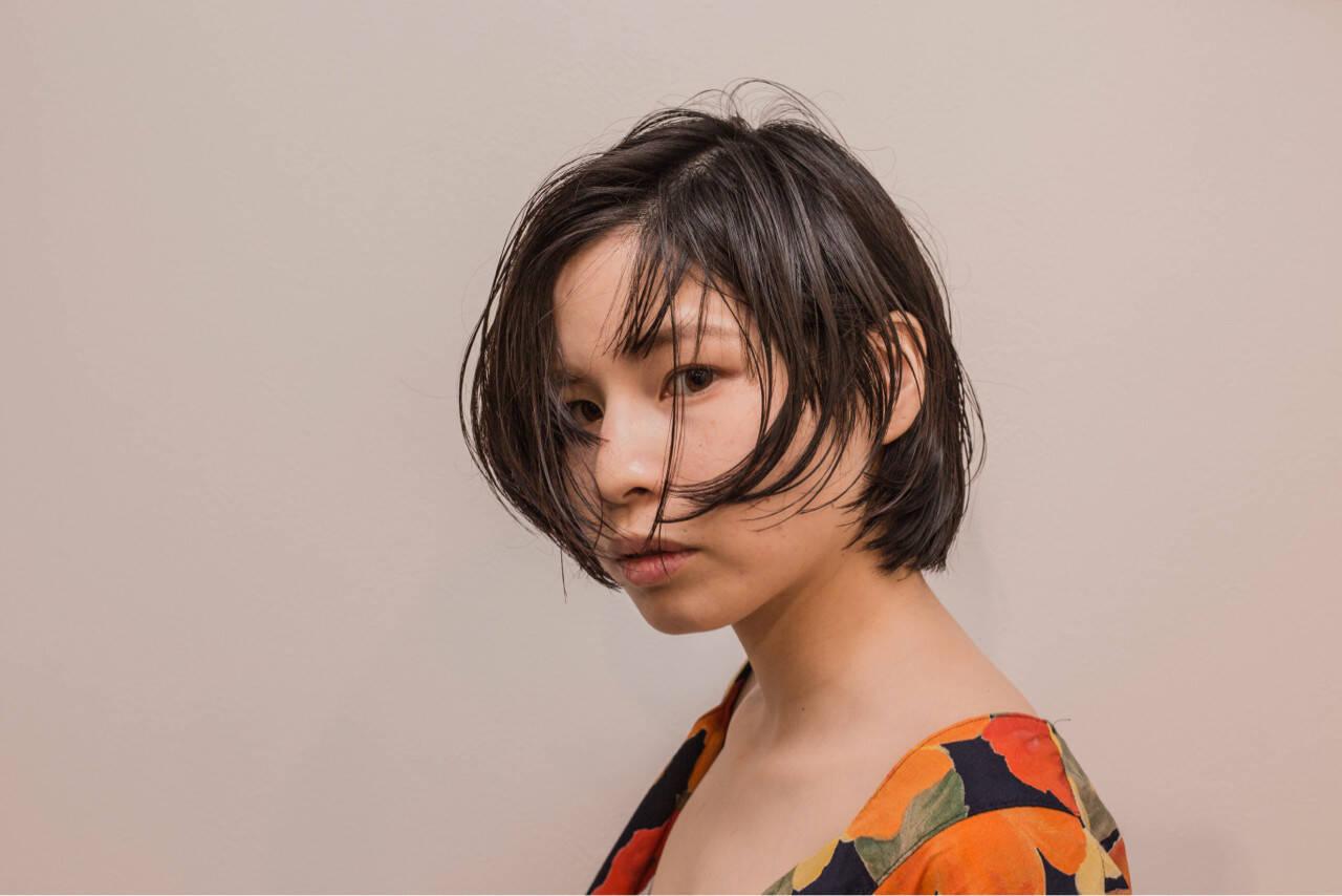 ナチュラル アンニュイ ヘアアレンジ 梅雨ヘアスタイルや髪型の写真・画像