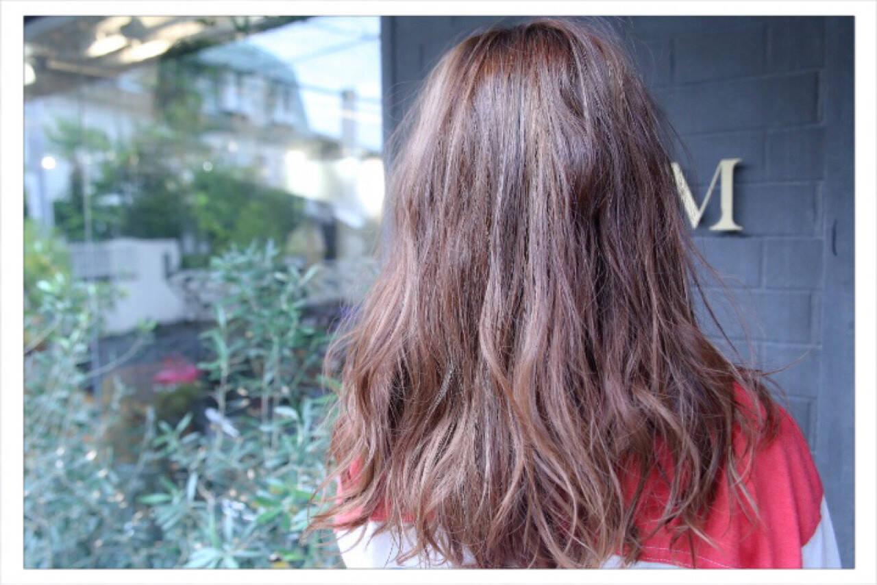 ナチュラル セミロング モテ髪 大人女子ヘアスタイルや髪型の写真・画像