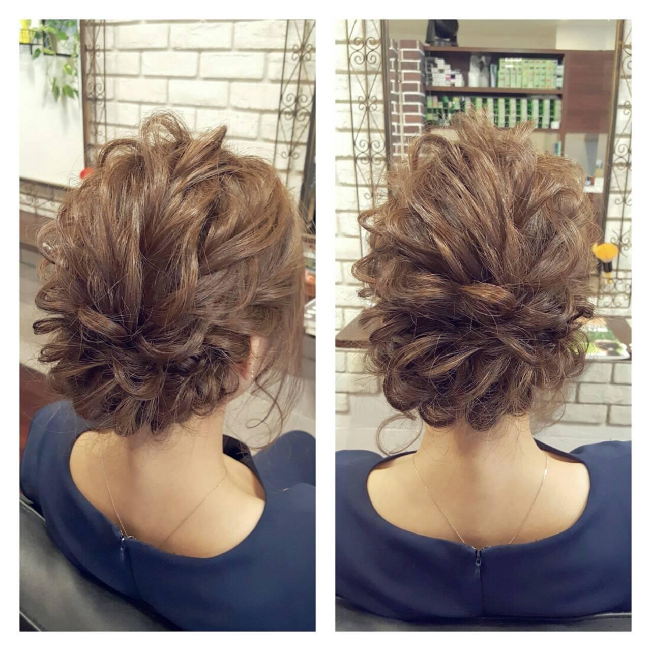 外国人風 大人かわいい 簡単ヘアアレンジ ヘアアレンジヘアスタイルや髪型の写真・画像
