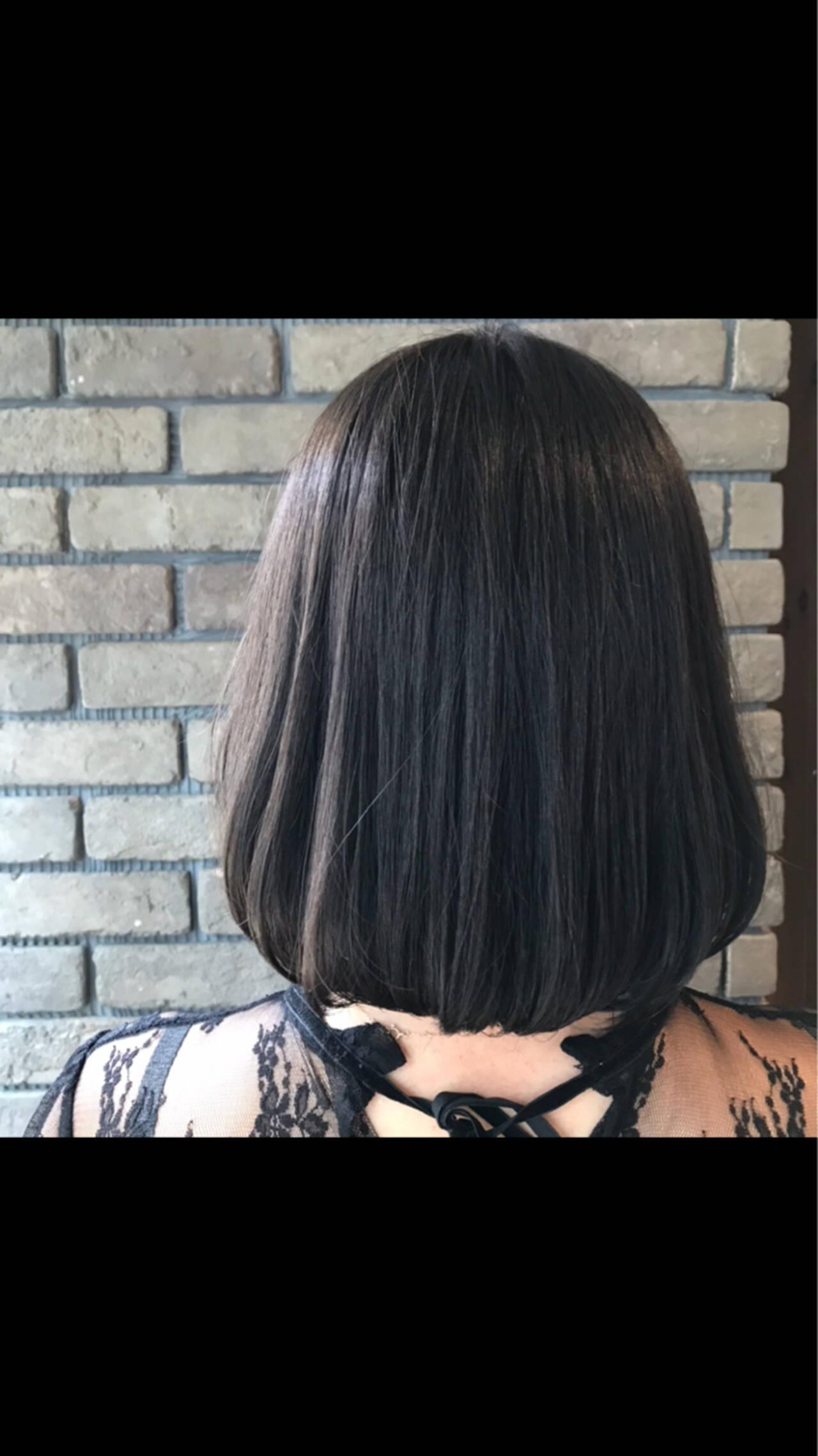 グレージュ 抜け感 透明感 ショートヘアスタイルや髪型の写真・画像