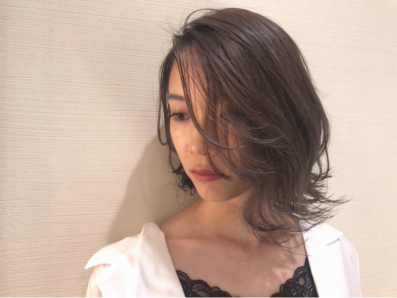 外国人風 透明感 ハイライト デートヘアスタイルや髪型の写真・画像