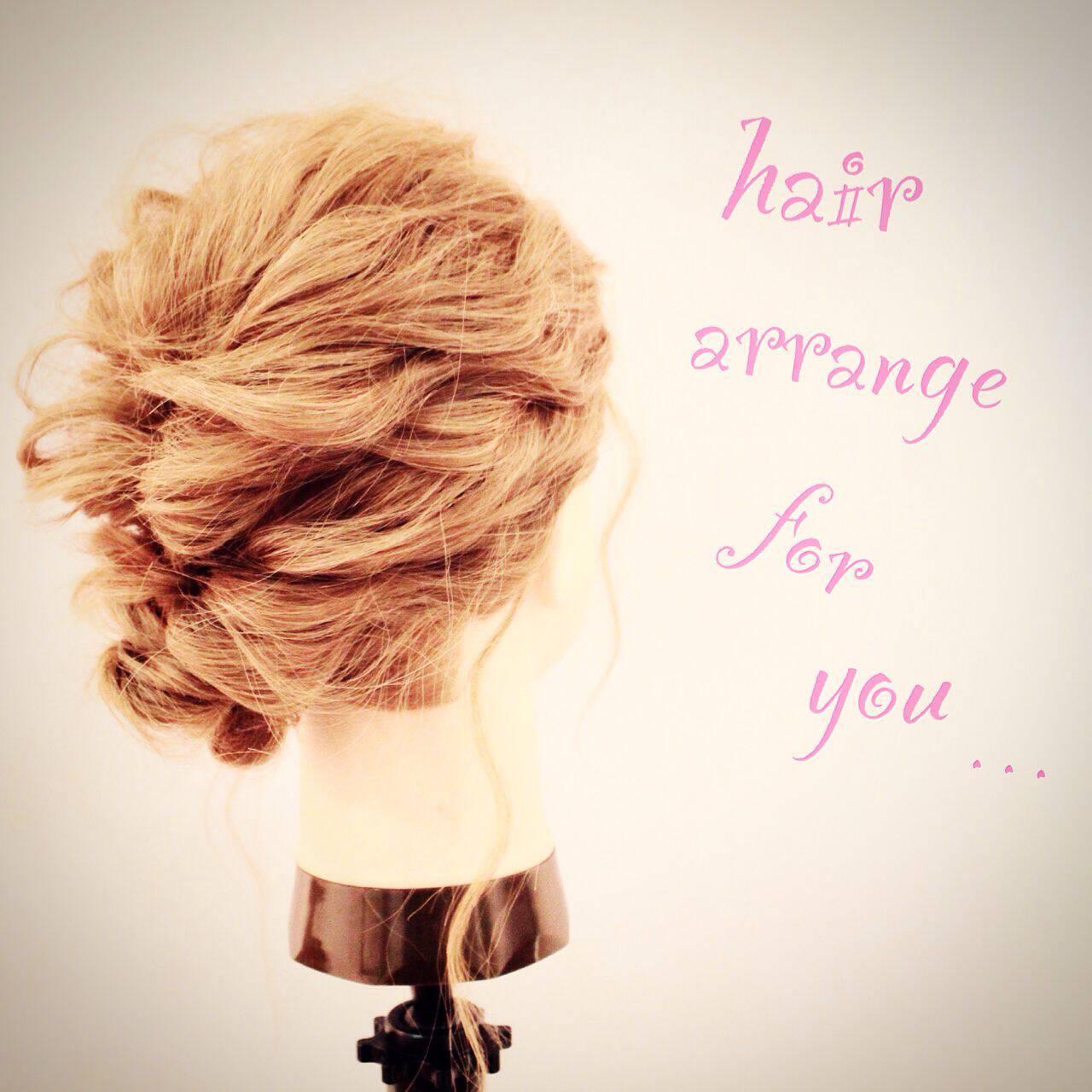 ウェーブ ストリート アップスタイル ヘアアレンジヘアスタイルや髪型の写真・画像