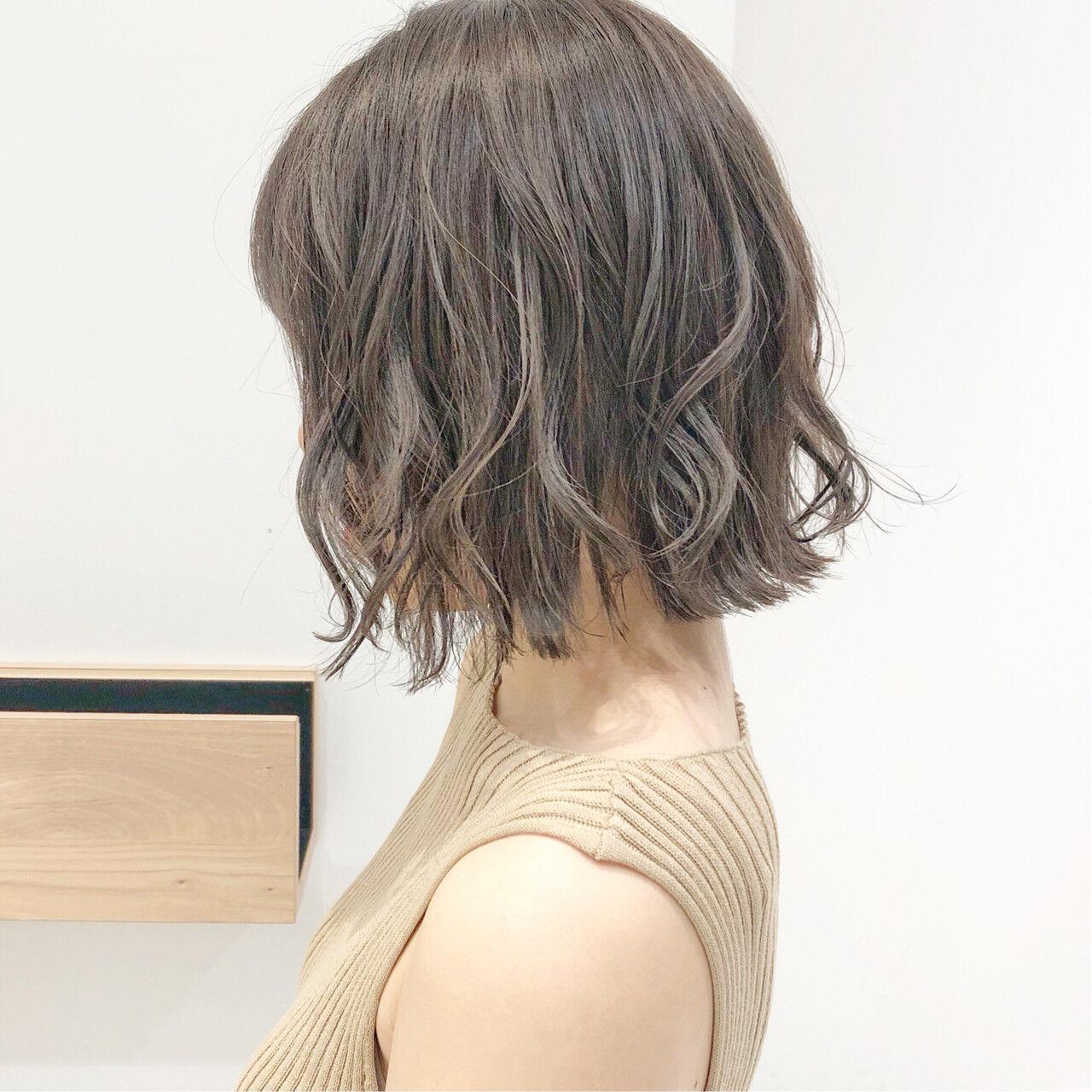 ナチュラル デート ボブ スポーツヘアスタイルや髪型の写真・画像