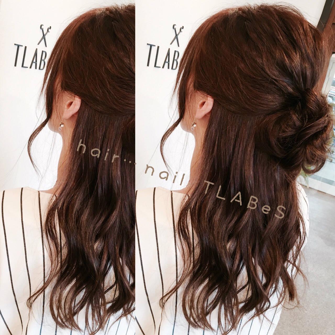 大人かわいい セミロング ショート 秋ヘアスタイルや髪型の写真・画像