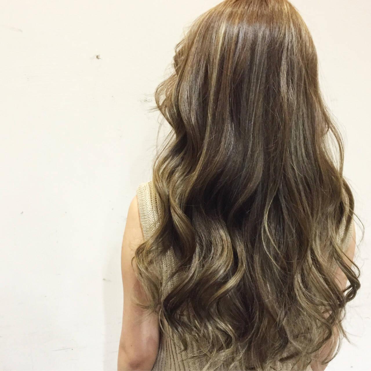 ガーリー 大人かわいい ロング 外国人風ヘアスタイルや髪型の写真・画像