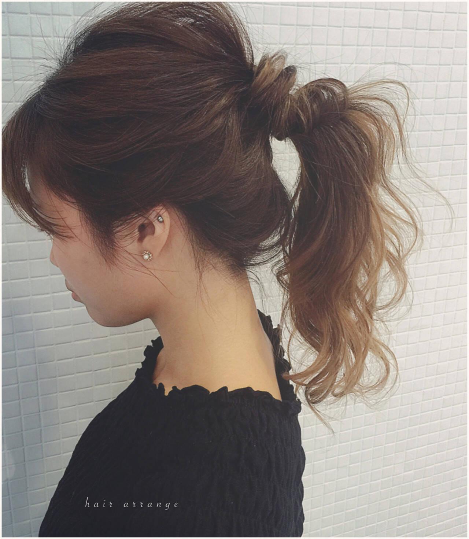 簡単ヘアアレンジ ラフ かっこいい 簡単ヘアスタイルや髪型の写真・画像