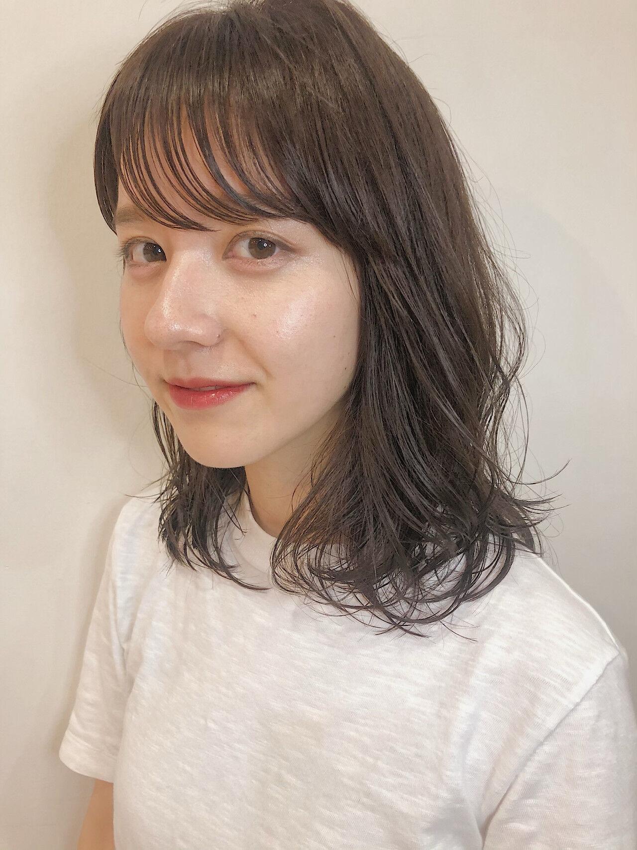 ナチュラル ヘアアレンジ モテボブ 外ハネボブヘアスタイルや髪型の写真・画像