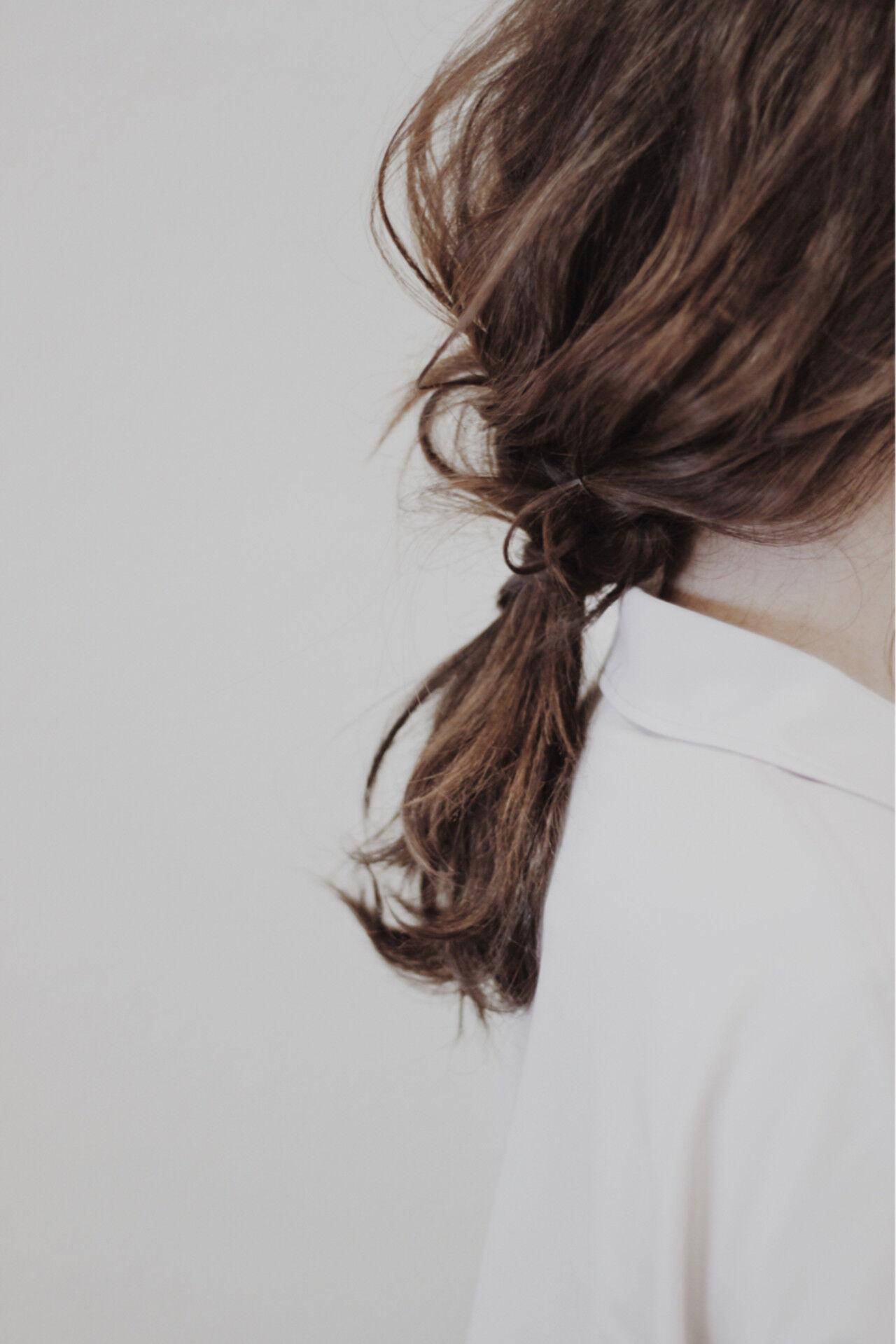 ナチュラル ヘアアレンジ ロング 二次会ヘアスタイルや髪型の写真・画像