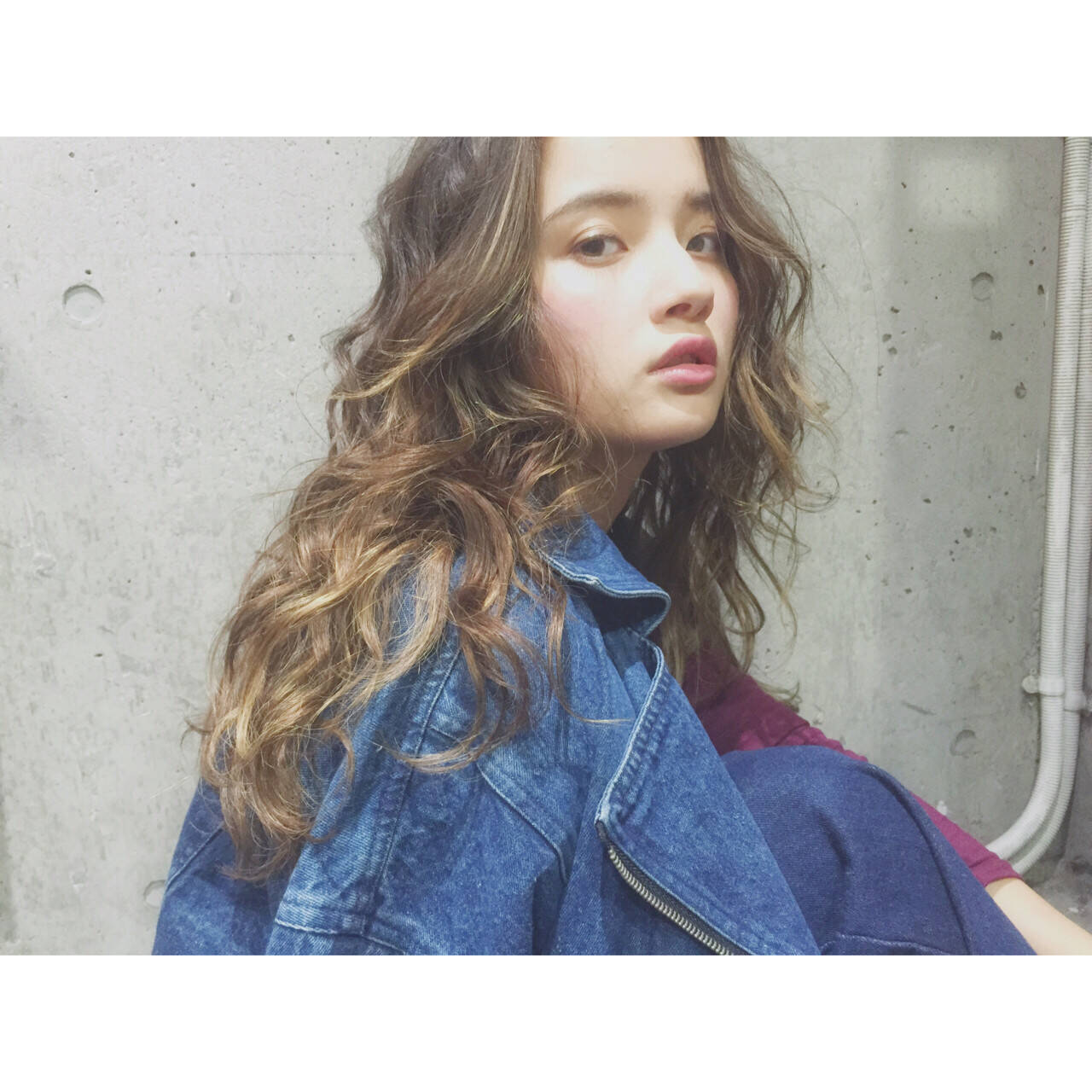 モテ髪 透明感 愛され ロングヘアスタイルや髪型の写真・画像