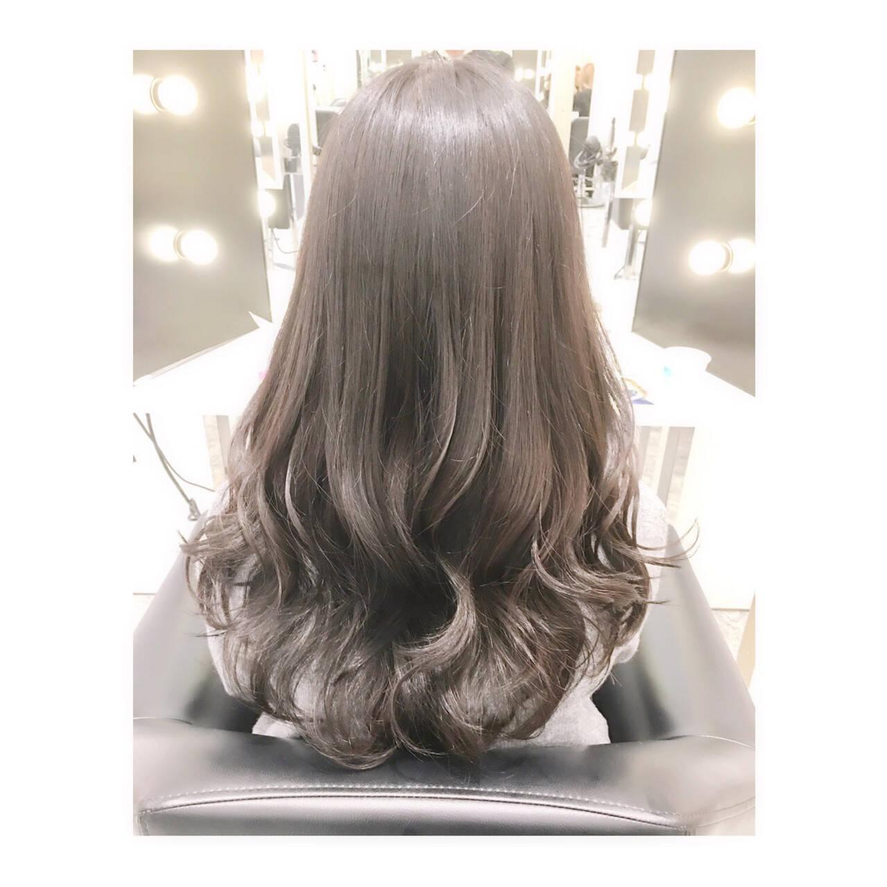 ロング 大人女子 大人かわいい ゆるふわヘアスタイルや髪型の写真・画像
