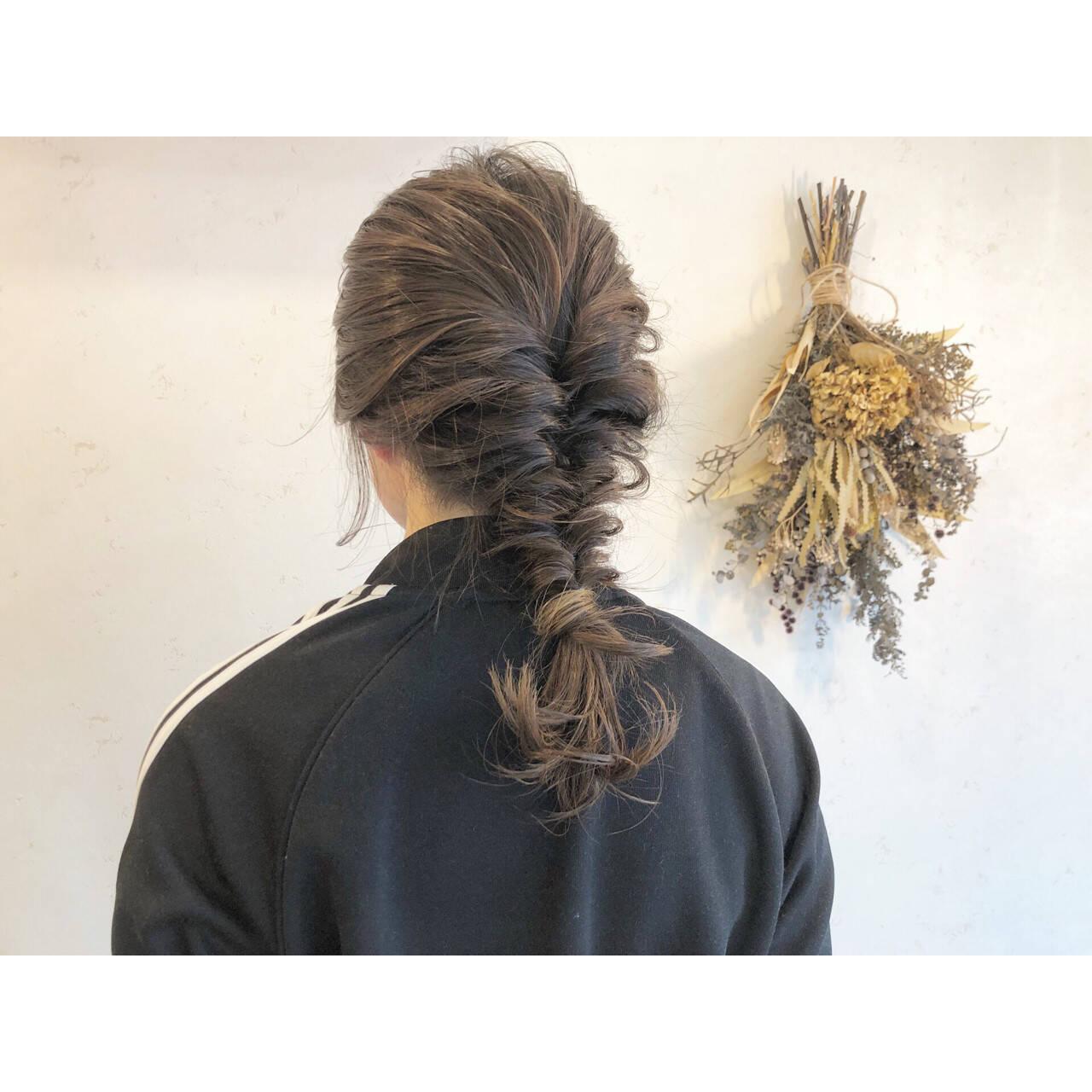 アンニュイほつれヘア ヘアアレンジ ハイライト 簡単ヘアアレンジヘアスタイルや髪型の写真・画像