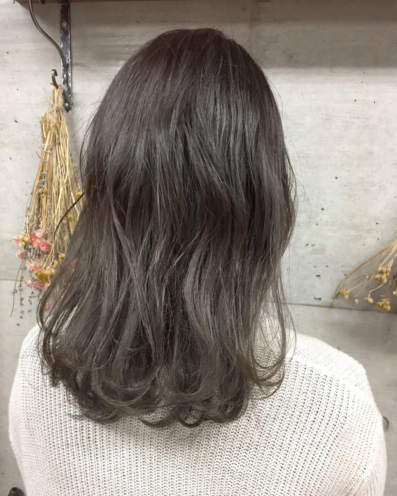 デート 冬 ヘアアレンジ ナチュラルヘアスタイルや髪型の写真・画像
