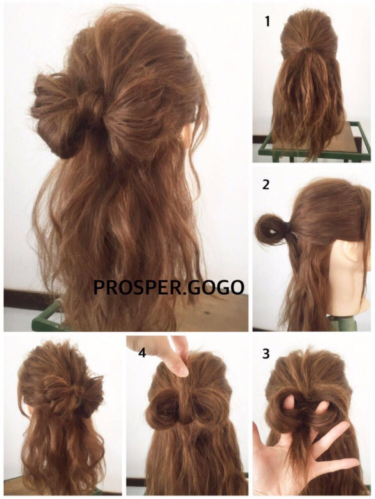 ヘアアレンジ 簡単ヘアアレンジ コンサバ セルフヘアアレンジヘアスタイルや髪型の写真・画像