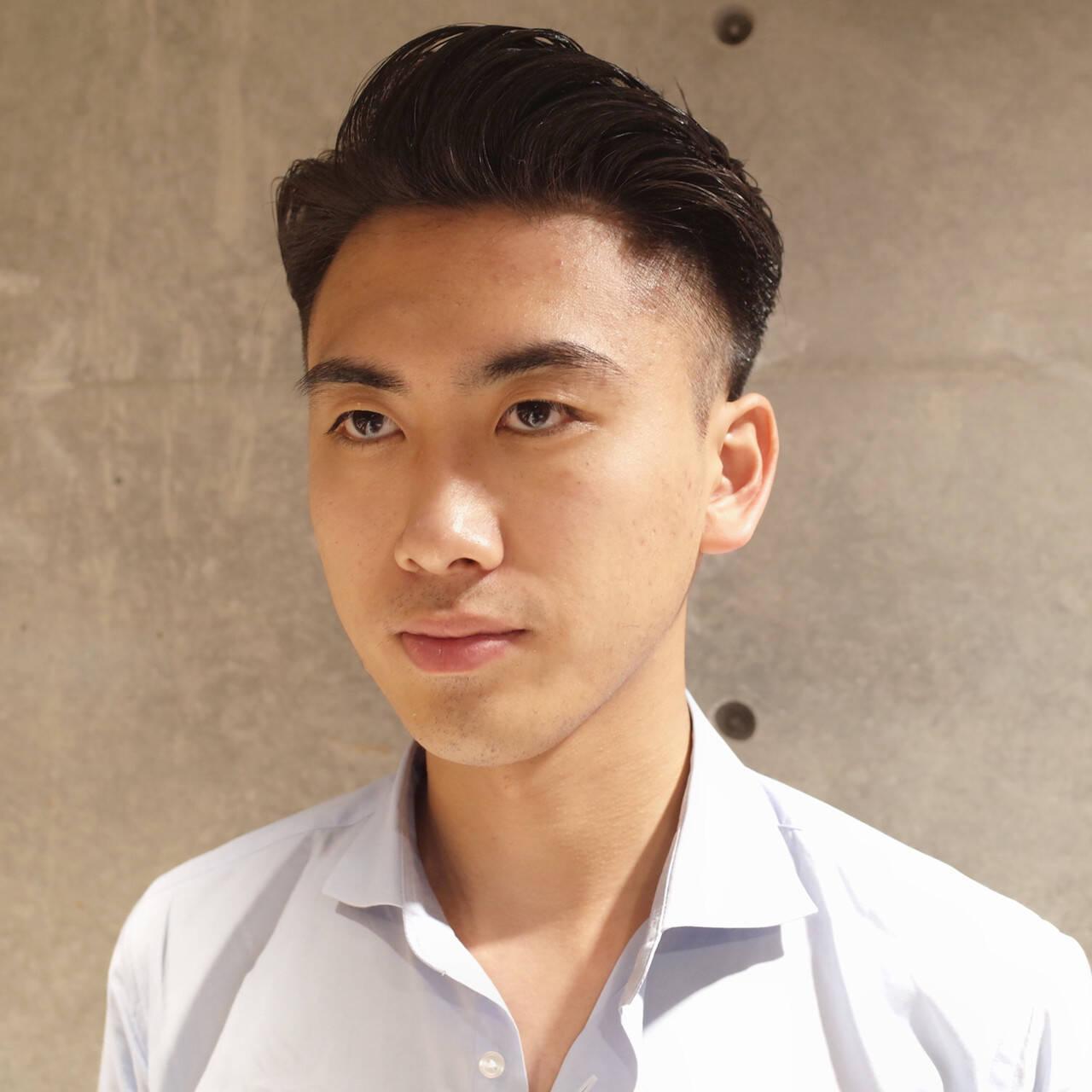 コンサバ ツーブロック メンズヘア メンズヘアスタイルや髪型の写真・画像