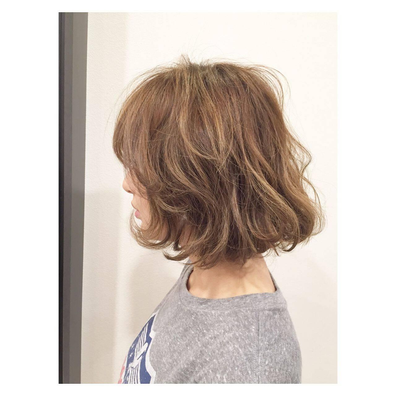 ストリート ボブ ウェットヘアヘアスタイルや髪型の写真・画像