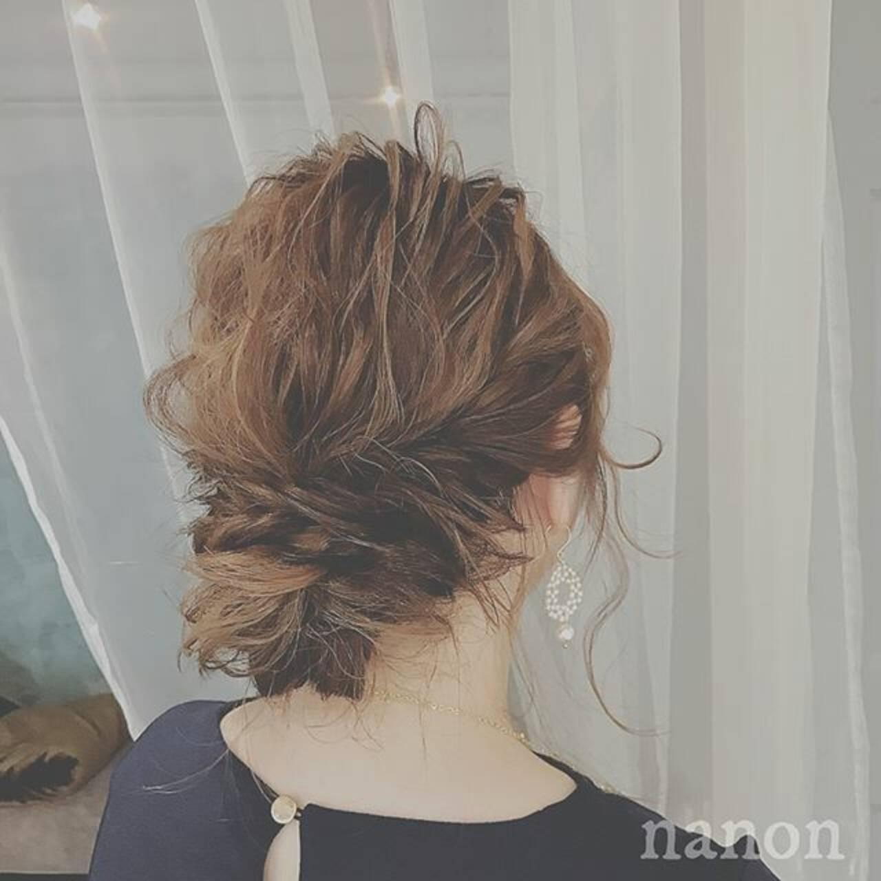 大人かわいい ゆるふわ ロング 結婚式ヘアスタイルや髪型の写真・画像