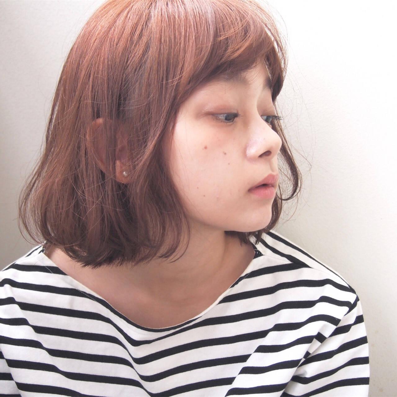 くせ毛風 ウェーブ 秋 透明感ヘアスタイルや髪型の写真・画像