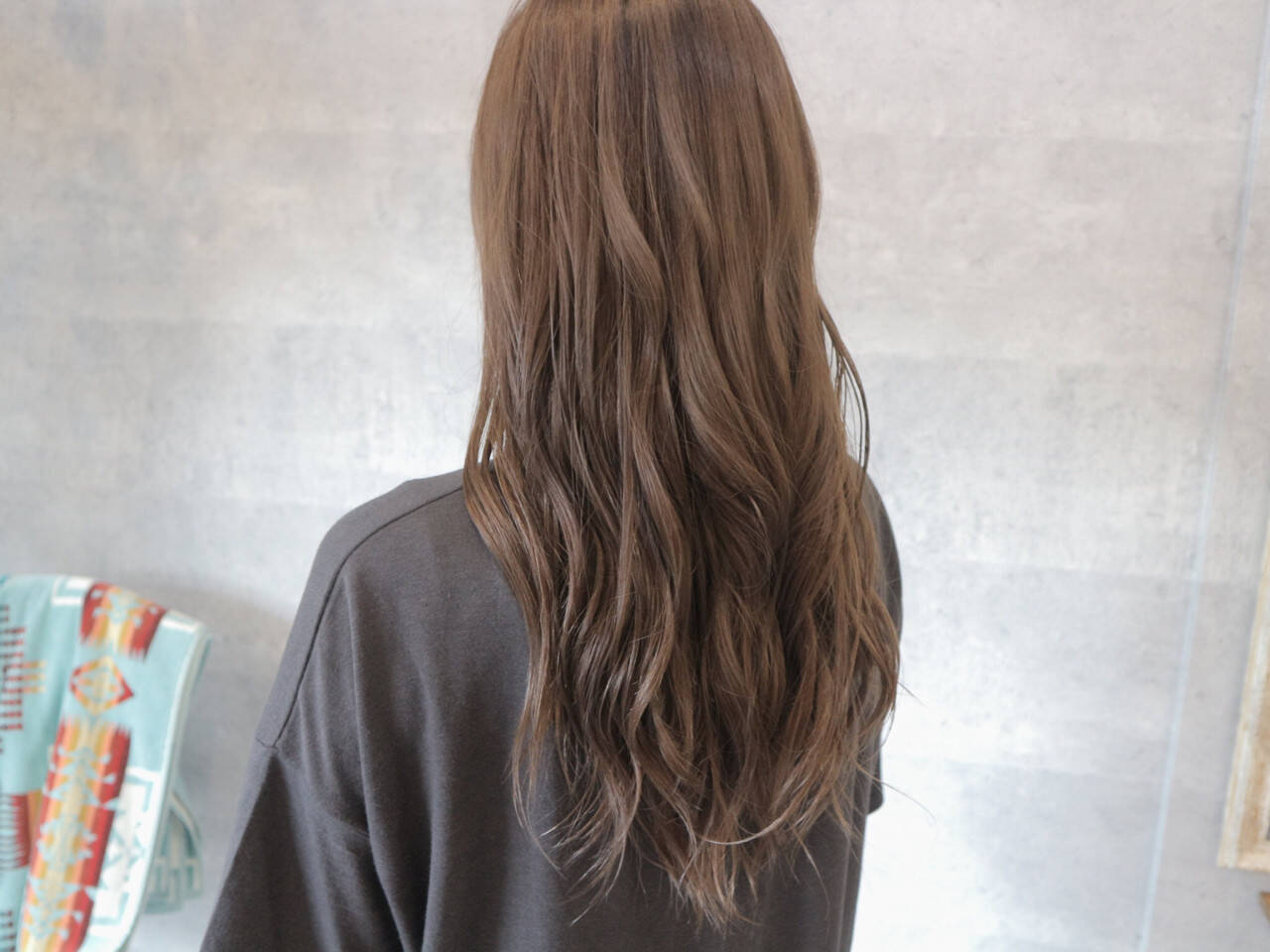 上品 女子会 グレージュ デートヘアスタイルや髪型の写真・画像