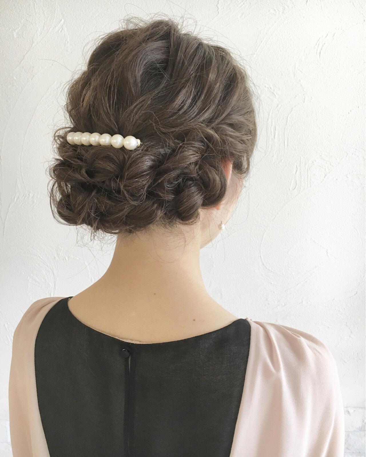 フェミニン ピュア ゆるふわ ヘアアレンジヘアスタイルや髪型の写真・画像
