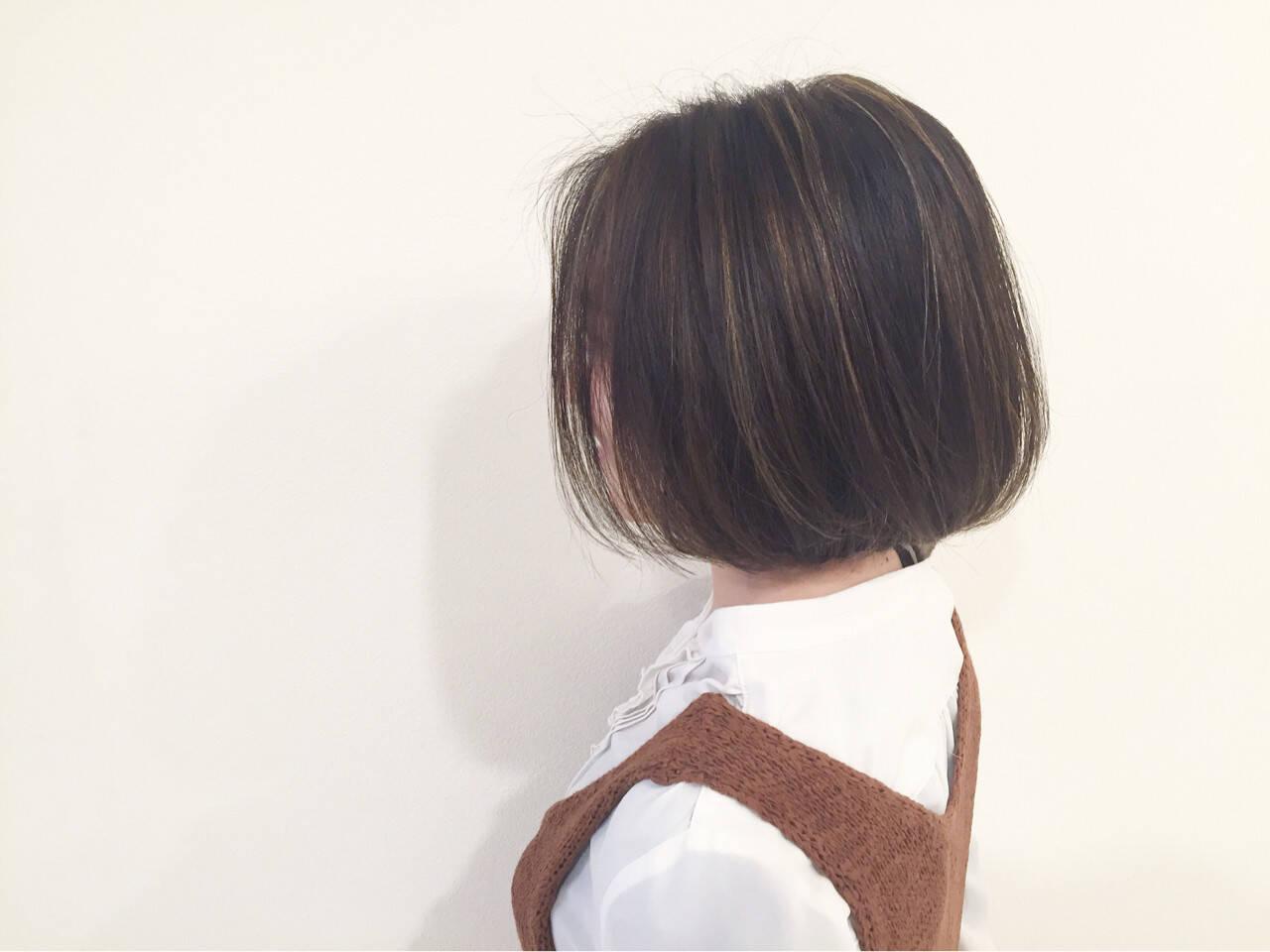 大人かわいい ブラウン グラデーションカラー ストリートヘアスタイルや髪型の写真・画像
