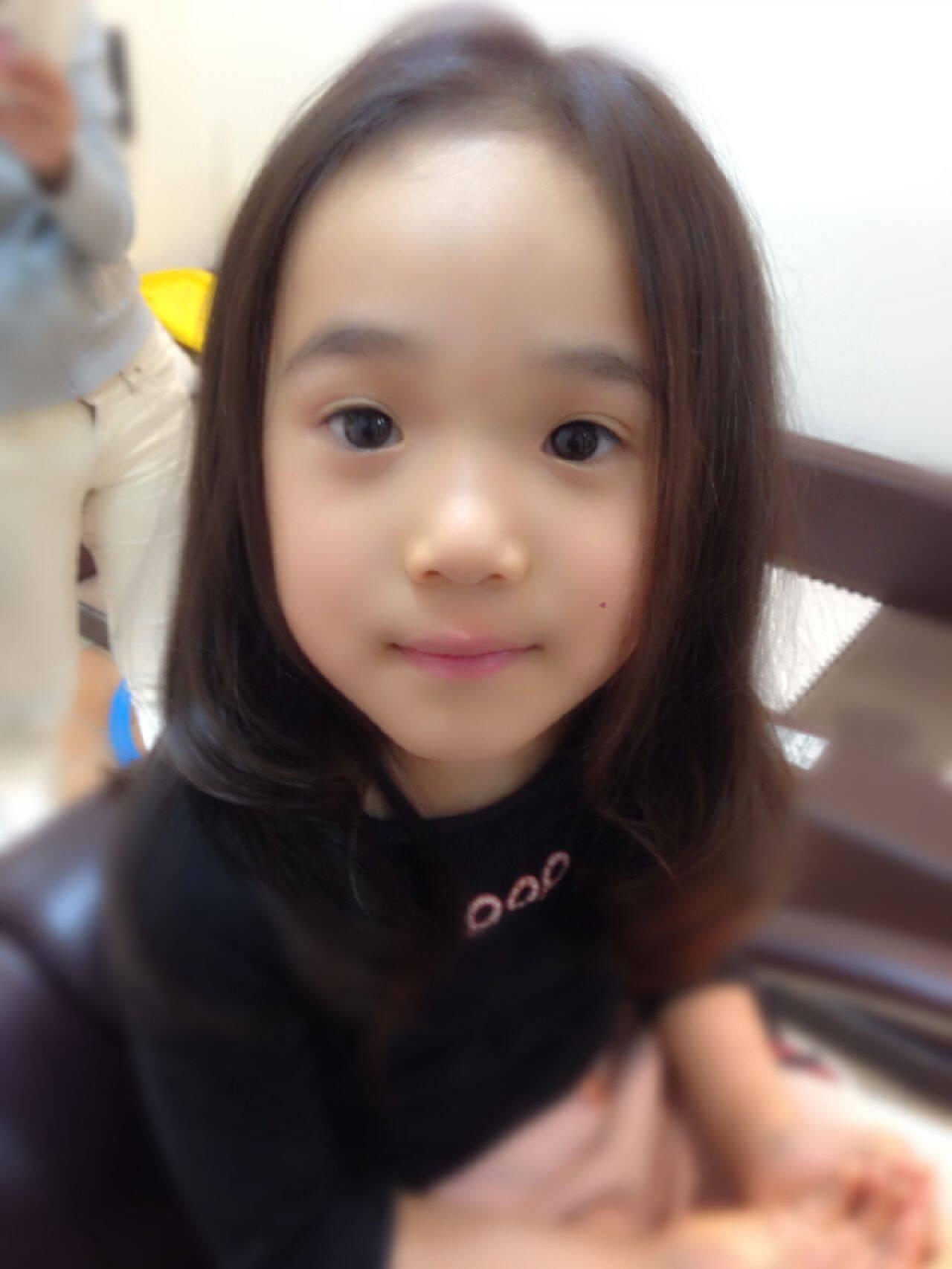 かわいい 子供ヘアスタイルや髪型の写真・画像
