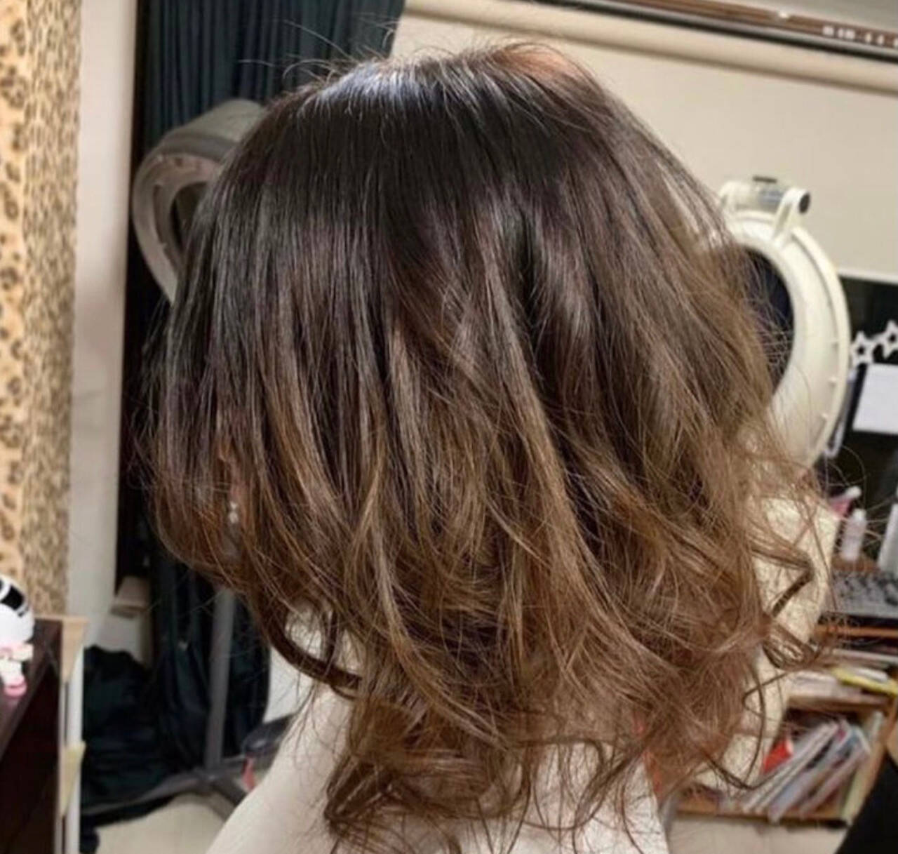 ベリーショート ミニボブ ガーリー ミディアムヘアスタイルや髪型の写真・画像