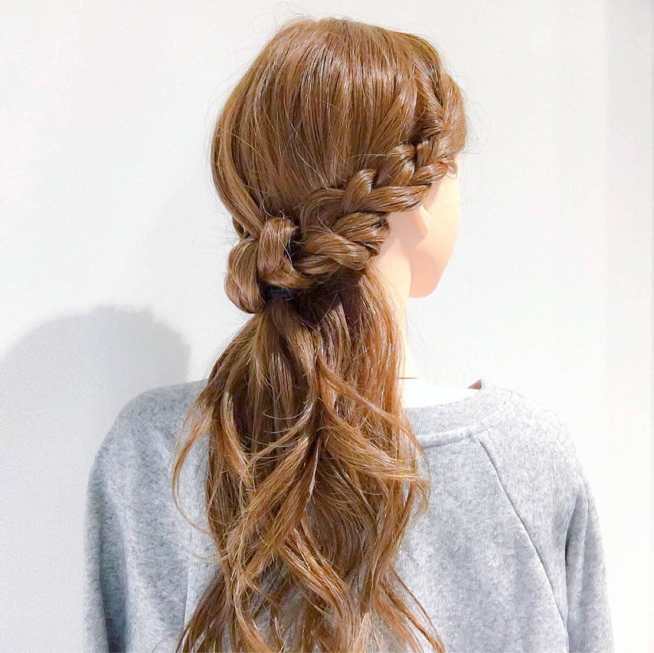 オフィス アンニュイ ロング エレガントヘアスタイルや髪型の写真・画像