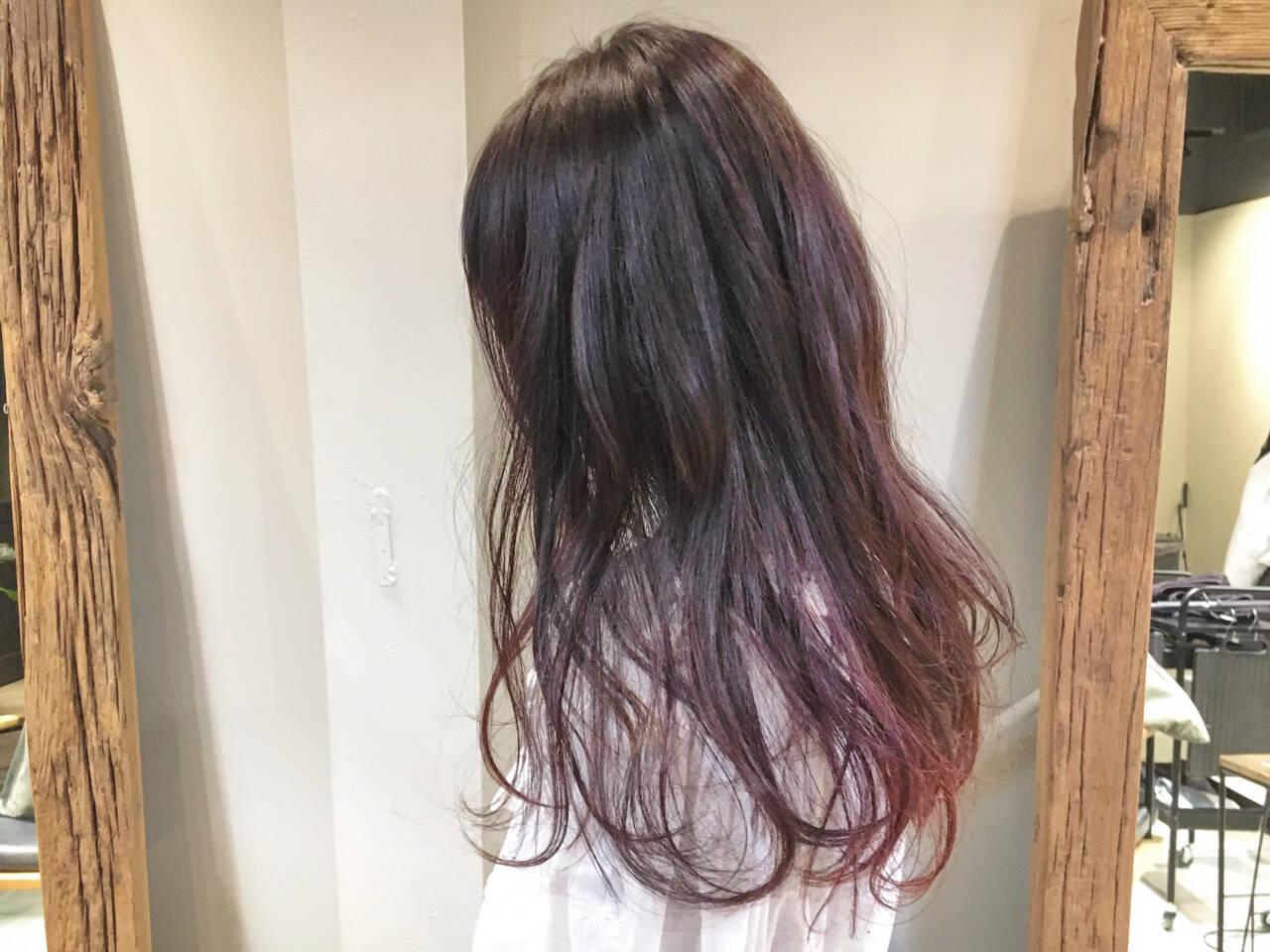 ピンク ガーリー デート ベリーピンクヘアスタイルや髪型の写真・画像