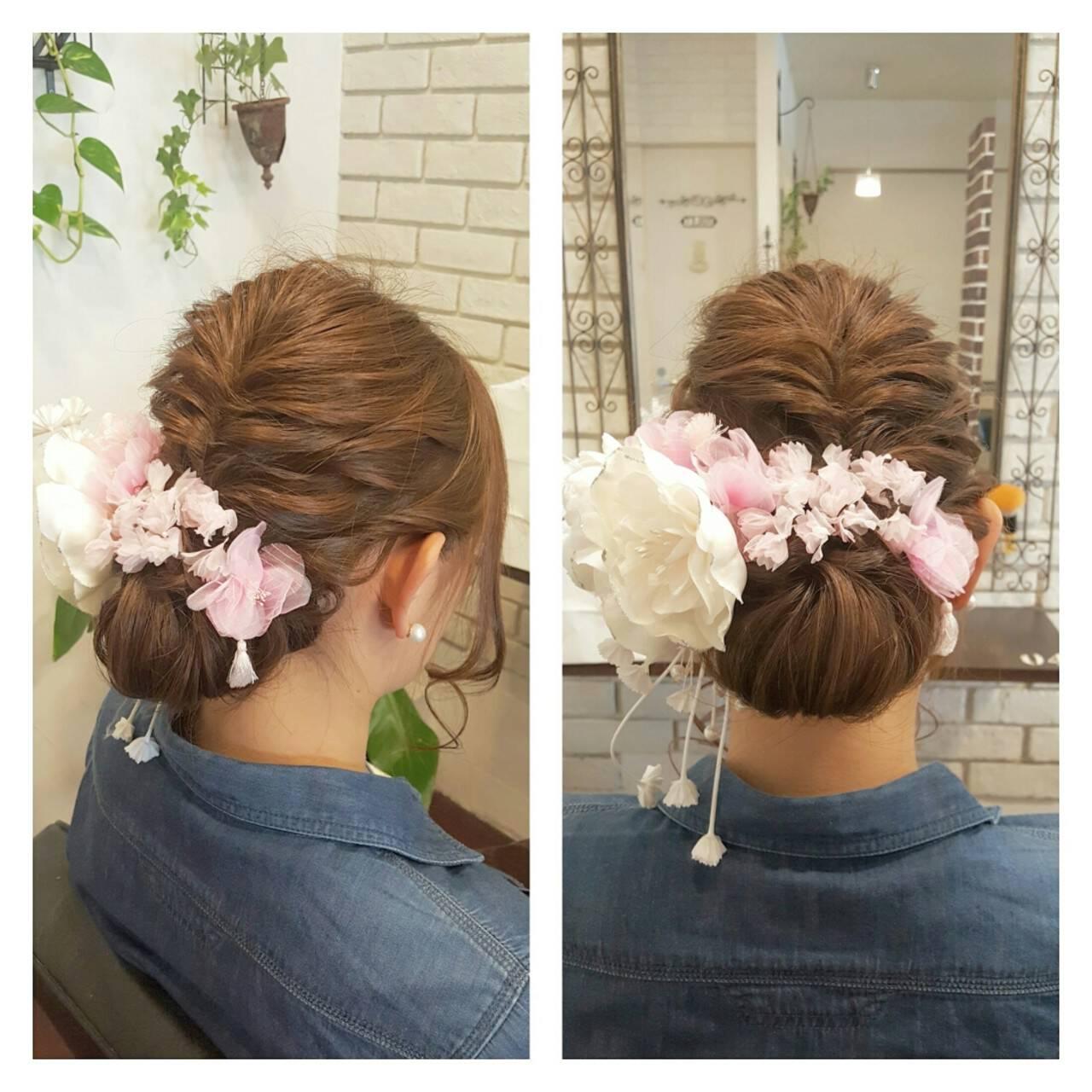 ハーフアップ ナチュラル 外国人風 ヘアアレンジヘアスタイルや髪型の写真・画像