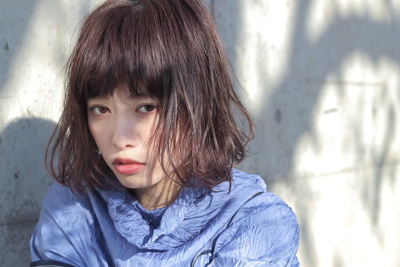 ニュアンス 色気 ストリート こなれ感ヘアスタイルや髪型の写真・画像