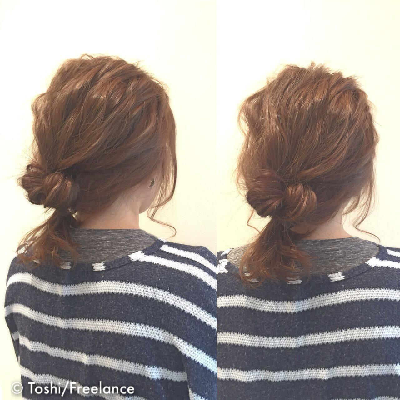 ヘアアレンジ ロング 結婚式 簡単ヘアアレンジヘアスタイルや髪型の写真・画像