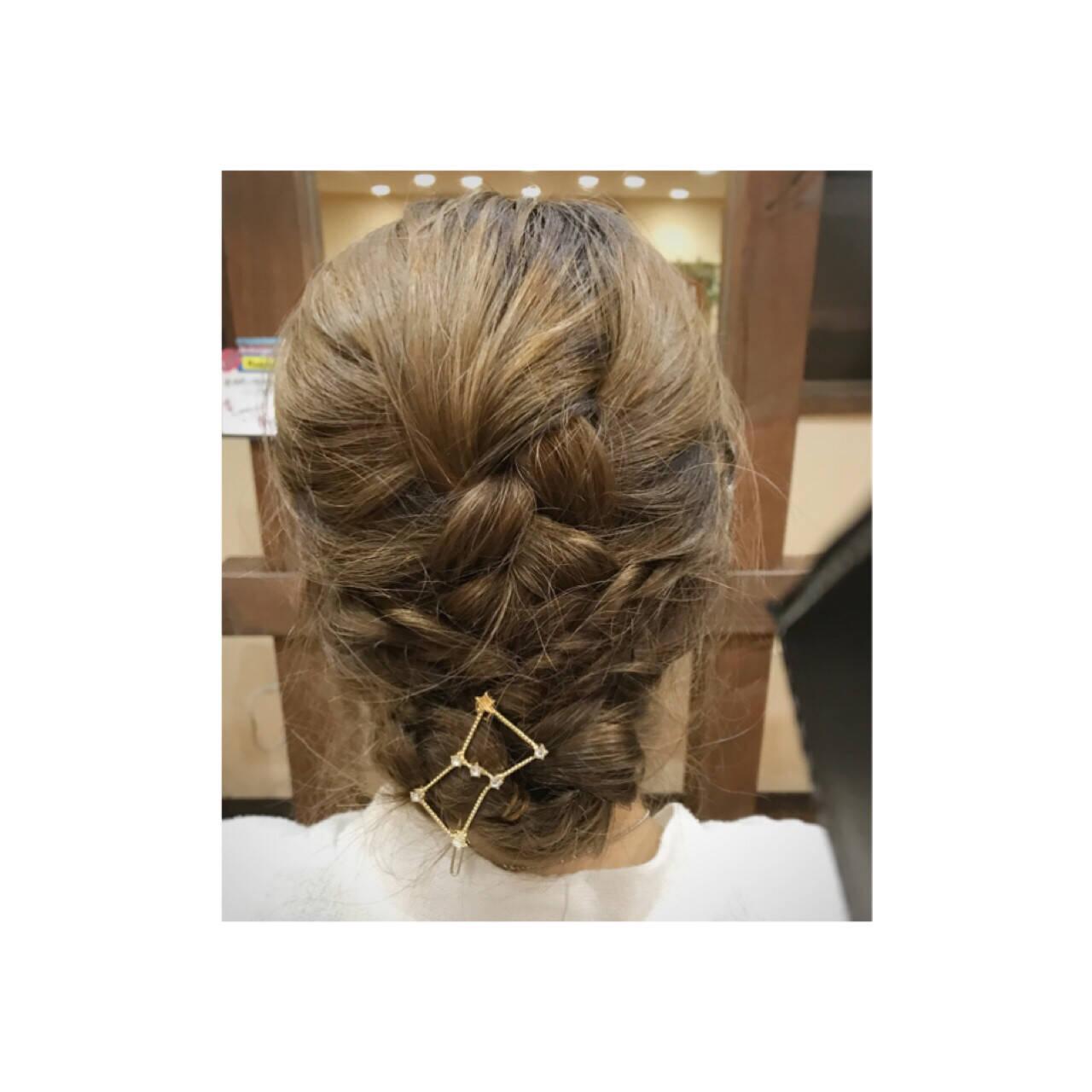ナチュラル ロング まとめ髪 デートヘアスタイルや髪型の写真・画像