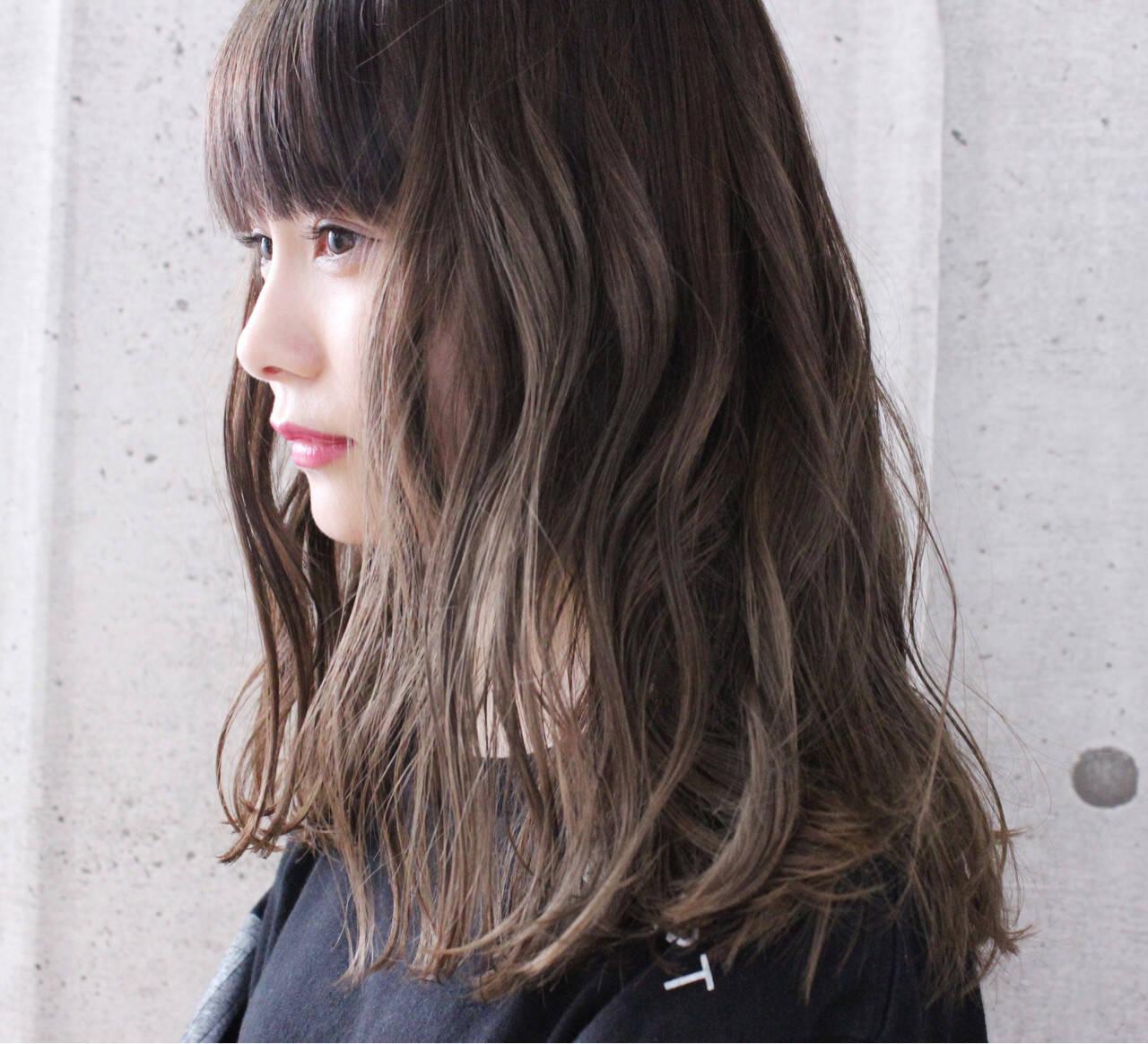 涼しげ 抜け感 アンニュイ ロングヘアスタイルや髪型の写真・画像