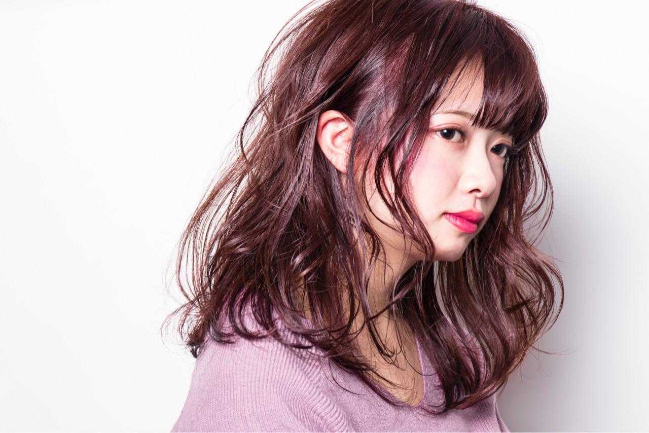 大人かわいい 上品 モテ髪 ガーリーヘアスタイルや髪型の写真・画像