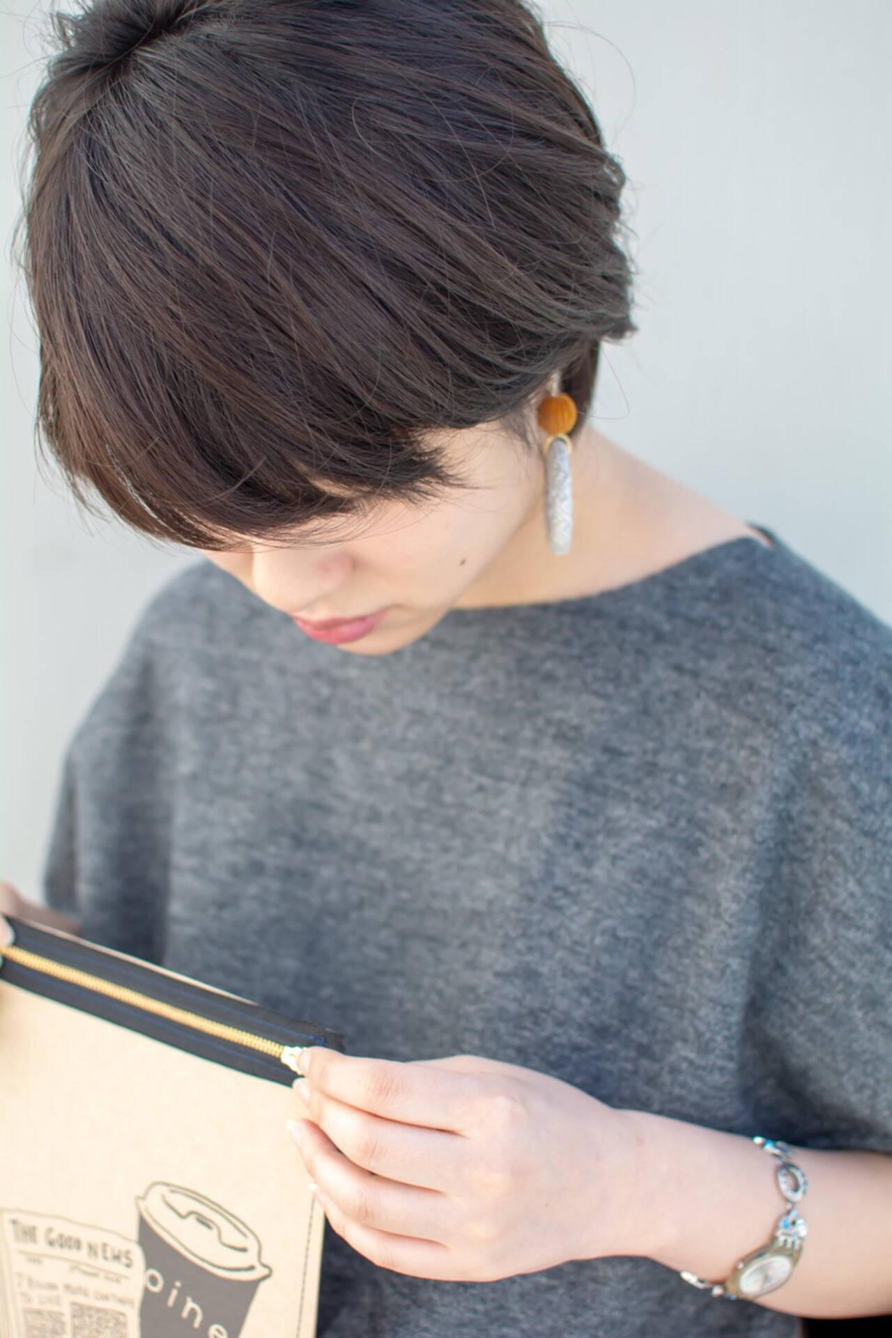 透明感 大人かわいい ナチュラル オフィスヘアスタイルや髪型の写真・画像