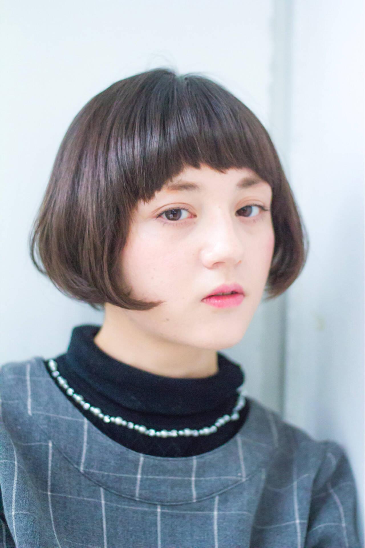 色気 ニュアンス ボブ こなれ感ヘアスタイルや髪型の写真・画像