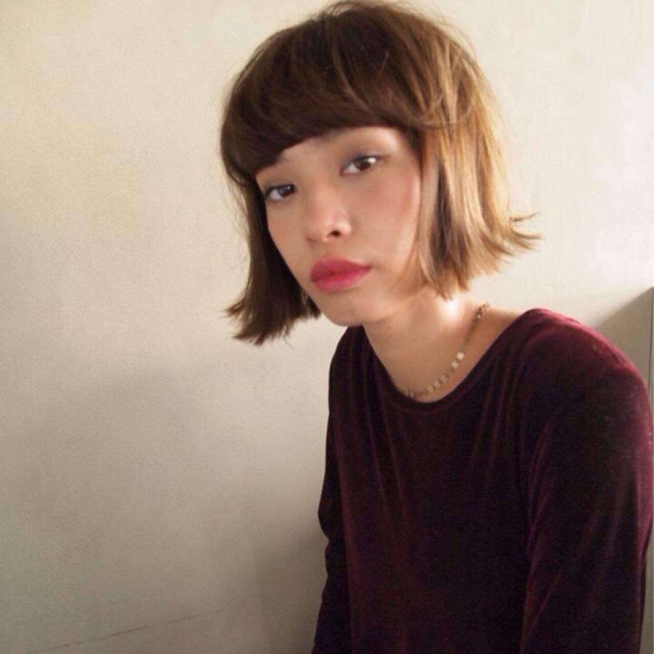 モード ナチュラル モテ髪 秋ヘアスタイルや髪型の写真・画像