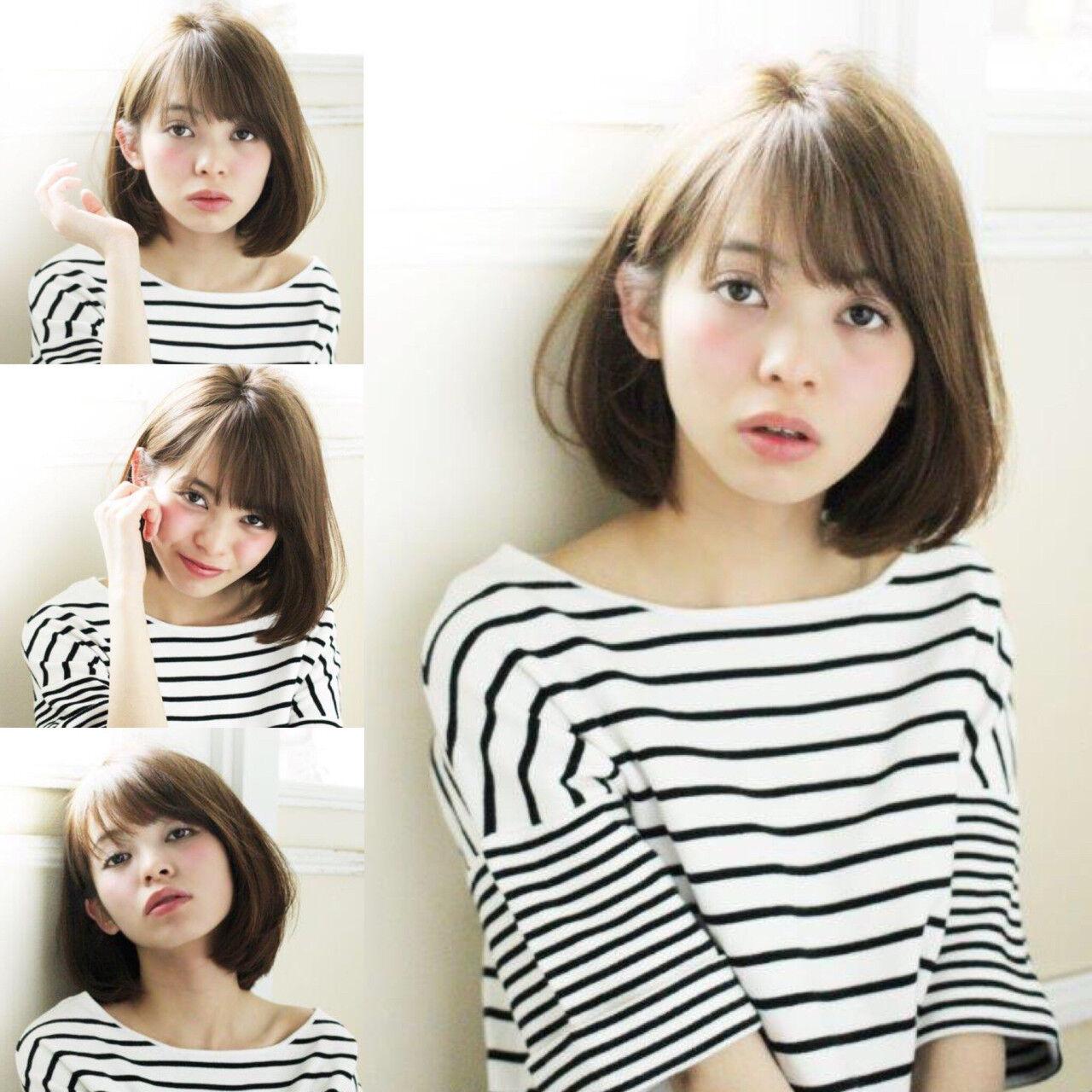 アッシュグレージュ 外国人風 小顔 大人かわいいヘアスタイルや髪型の写真・画像