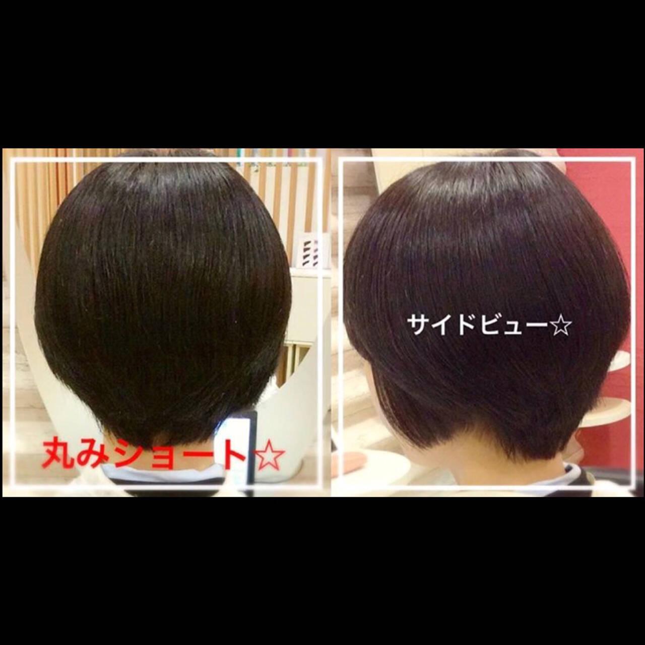 ナチュラル ショート ヘアアレンジ 爽やかヘアスタイルや髪型の写真・画像