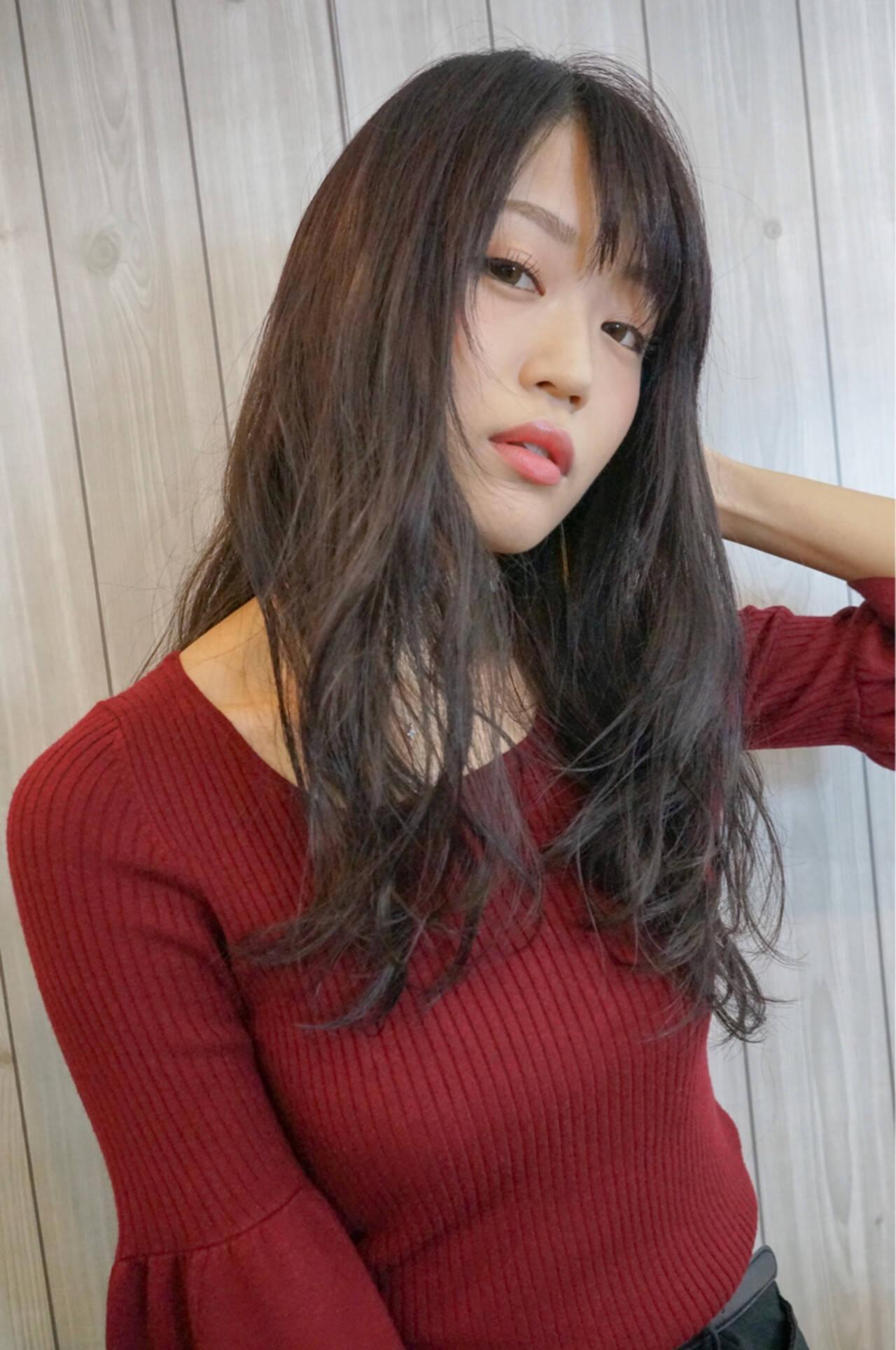 フェミニン 女子力 ナチュラル エフォートレスヘアスタイルや髪型の写真・画像